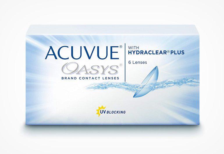 Acuvue Oasys Wochenlinsen: Vor- & Nachteile