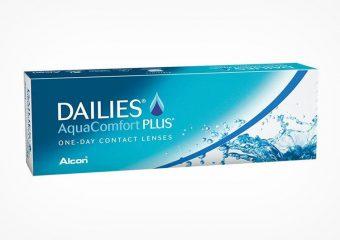 Dailies AquaComfort Plus Tageslinsen: Vor & Nachteile